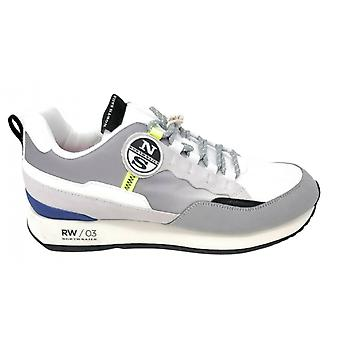 Shoes North Sails Sneaker Rw/03 019 Watercraft Suede/ Grey Fabric / White Us21ns06