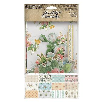 Idea-ology Tim Holtz Worn Wallpaper Scraps