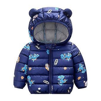 Vauvan takki hupullinen lämmin päällysvaate takki