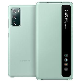 Capa Samsung Galaxy S20 FE Smart Clear View Original branco Touch Window