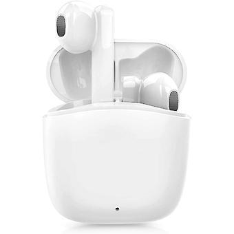 Bluetooth-hoofdtelefoon, draadloze Bluetooth 5.0 in-ear hoofdtelefoon met snellaaddoos, ingebouwde microfoon, aanraakbediening, waterdichte IPX5, 25 uur afspelen