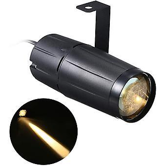 FengChun Pinspot LED DJ Effekt Licht, Party Club Bar Bühne Lampe, AC90-240V 10 Watt LED Mini Strahl