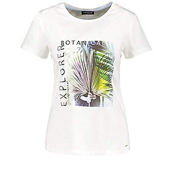 Taifun T-Shirt 1/2 Arm, White Pattern, 42 Woman(1)