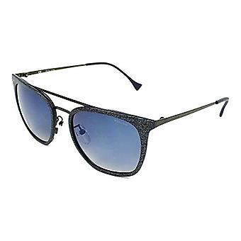 Police PO SPL152N AG2B 53 MM Glasses, Grey, Unique Unisex-Adult