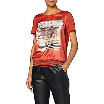Garcia U00005 T-Shirt, Brick Red, L Woman