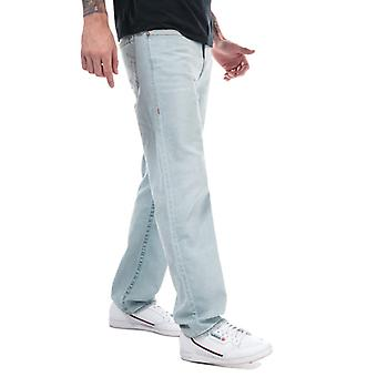 Men's True Religion Devlin No Flap Straight Fit Jeans in Blue