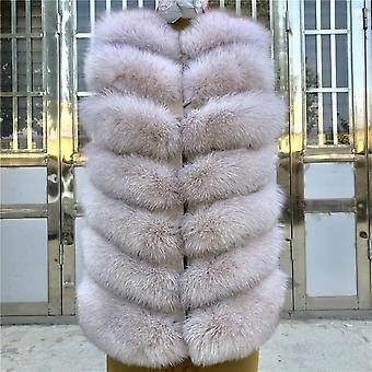 Dámske krátke bez rukávov Zimné teplé kabáty Set-4