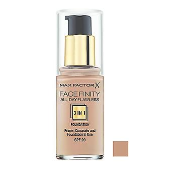 Max Faktor FaceFinity 3 in 1 Stiftung alle Tag makellos SPF20 30ml Rose Beige #65