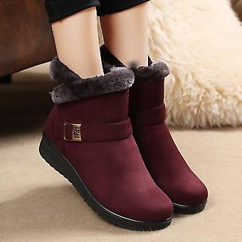 Woman Winter Ankle Boots, New Fashion Non-slip Boots