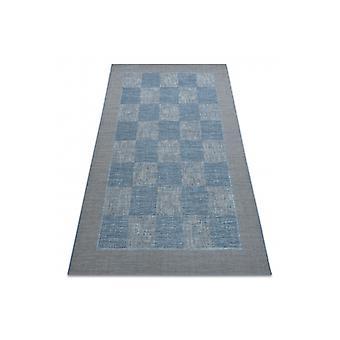 Rug SISAL FORT 36217835 Chessboard blue