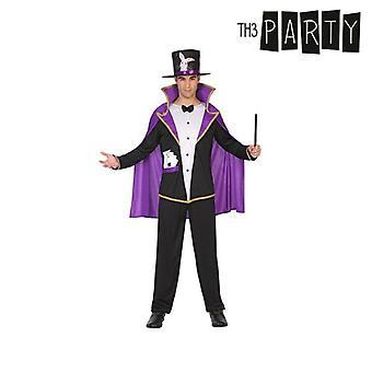 Costume per adulti Wizard (4 Pezzi)
