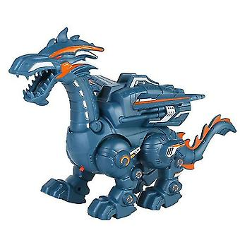 Electric spray mechanical dinosaur toy multifunctional sound light toy dt4640