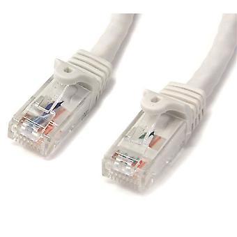 StarTech 2m Witte Gigabit Snagless RJ45 UTP Cat6 Patch Kabel