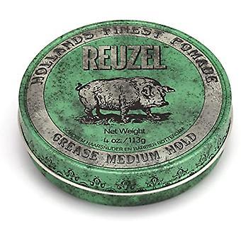 Reuzel Green Medium Hold Grease Pomade 113g