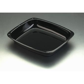 Pendeford Vitreous Enamel Bakeware Roaster Pan Large 38cm