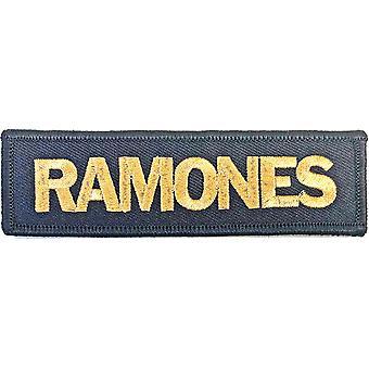 Ramones - Standard patch for gulllogo