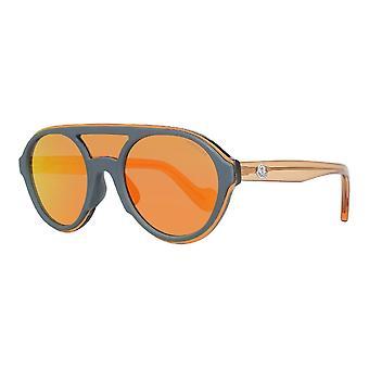 Unisex Sunglasses Moncler ML0052-20C Red Grey