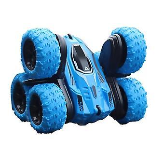 2.4Ghz six-wheel rc cars tracked car jumping car 360° flip rc vehicle toys stunt drift deformation car