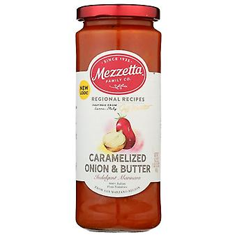Mezzetta Sauce Mrnra Crmlz On Butr, Case of 6 X 16.25 Oz