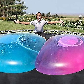 Super Size Bubble Ball Spielzeug für Erwachsene Kinder Aufblasbare Wasser Ball Strand (Pink)