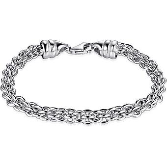Gisser Jewels - Pulsera - Gerhodineerd Plata de Ley - longitud 21 cm