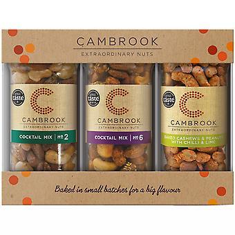 Cambrook Mixed Nuts 3 Jar Gift Set
