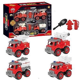 Giocattolo dei camion dei pompieri rimovibile per bambini