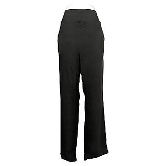 WVVY By Fitty Britttty Women's Plus French Terry Lounge Pant Black 732874