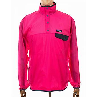 Patagonia Houdini Snap-t Pullover Top - Ultra Pink