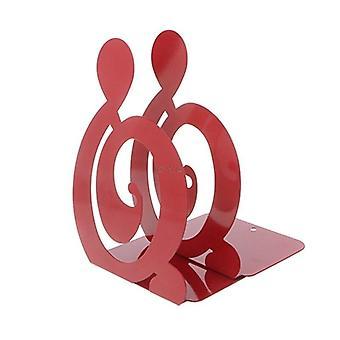 מחזמר הערה מתכת ספרים מחזיקי ברזל מחזיק שולחן עומד עבור ספרים OO|