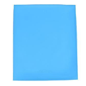 Multifunktionale Küche im skandinavischen Stil Antihaft Silikon rollbare Backmatte (Blau)