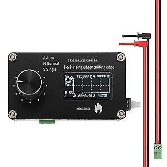 1,3 inch oled display aanraken knop 250khz sampling rate eenvoudige oscilloscoop metalen knop aanpassing