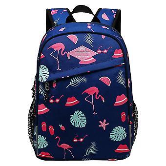 Flamingo Print Lightweight Kids Book Bag