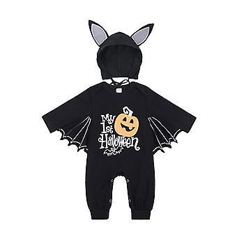 Autumn/winter Baby Jumpsuit Bat Long Sleeve Halloween Costume