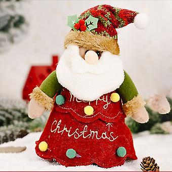 Mimigo 20cm*16cm Xmas Cartoon Storage Bag Christmas Drawstring Gift Bags Christmas Candy Goodies Bags For Birthday Christmas Holiday Party Favor