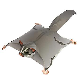 Suiker Zweefvliegtuig Vliegende Muis Handgemaakte Origami Art Mini Leuke 3D Papier Model Papercraft Dier Diy Kids Volwassen Craft Speelgoed