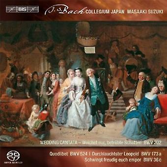 J.S. Bach - Bach: Secular Cantatas, Vol. 3 [SACD] USA import