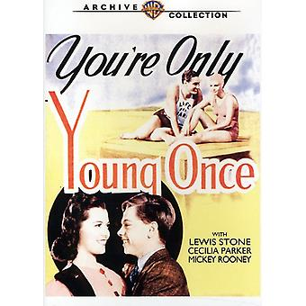 You're Only Young Once [DVD] USA import