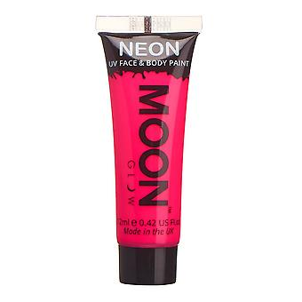 Moon Glow - 12ml Neon UV Face & Body Paint - Intense Pink