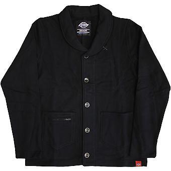 Dickies Flagstaff Shawl Collar Sweatshirt Black