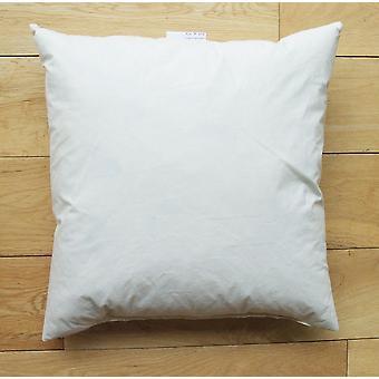 Microfibre Down Feel Cotton Cover Cushion Pad 40x40cm