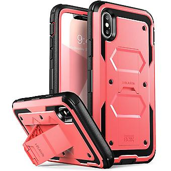 iPhone X asia, [Armorbox] i Blason rakennettu vuonna [Screen Protector] [koko kehon] [Heavy Duty vapaasta liikkuvuudesta [Kickstand] Iphone X
