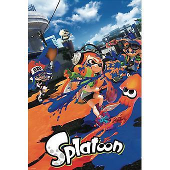Splatoon Poster Poster Print