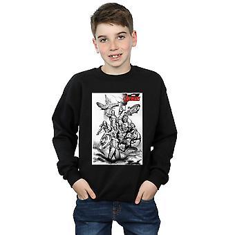 Marvel Boys Avengers Assemble Team Sketch Sweatshirt