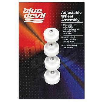 Blue Devil B9701C Wheel Assembly PVC