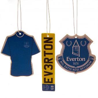 Everton 3pk luftfräschare