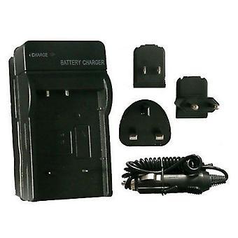 Premium Sanyo DB-L90 cestovná nabíjačka batérií pre Sanyo Xacti VPC-SH1, VPC-SH1EX, VPC-SH1GX, VPC-SH1PX, VPC-SH1TA
