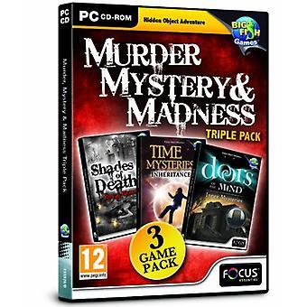 Murder Mystery och Madness Triple Pack (PC CD)-nytt