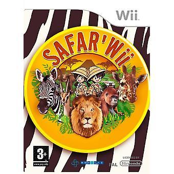 SAFARWii (Wii)-fabriken förseglad
