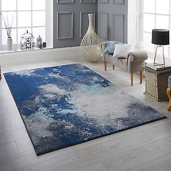 Sansa L 1802 retângulo azul tapetes tapetes modernos